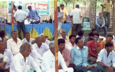 Farmers Meeting at Devgam